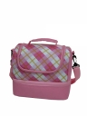 Simple Double Decker School Lunch Box Cooler Bag (#76759)
