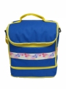 Simple Double Decker Picnic Cooler Bag With Zipper Closure (#76760)